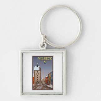 Vilseck - Tower and Gate - Winter Keychain