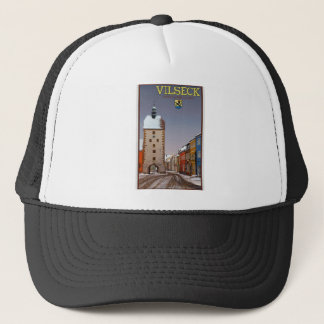 Vilseck - Tower and Gate - Winter Trucker Hat