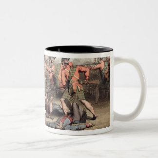 Vimiera, 1st August 1808, from 'The Victories of t Two-Tone Coffee Mug