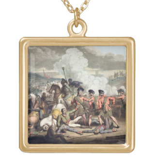 Vimiera, 1st August 1808, from 'The Victories of t Square Pendant Necklace