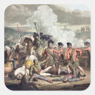 Vimiera, el 1 de agosto de 1808, 'de las victorias pegatina cuadrada
