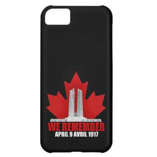 Vimy Ridge We Remember Case For iPhone 5C