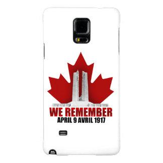 Vimy Ridge We Remember Galaxy Note 4 Case