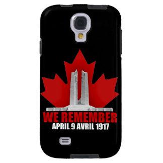 Vimy Ridge We Remember Galaxy S4 Case