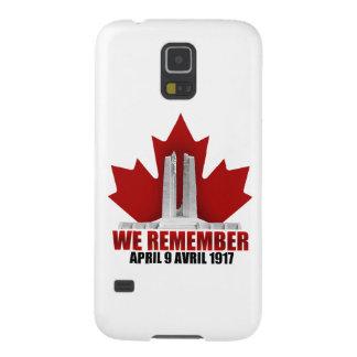 Vimy Ridge We Remember Galaxy S5 Cases