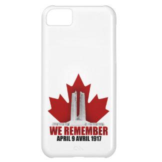 Vimy Ridge We Remember iPhone 5C Cover