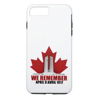 Vimy Ridge We Remember iPhone 8 Plus/7 Plus Case