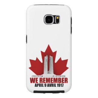 Vimy Ridge We Remember Samsung Galaxy S6 Cases