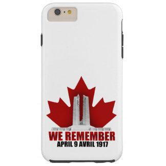 Vimy Ridge We Remember Tough iPhone 6 Plus Case
