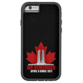 Vimy Ridge We Remember Tough Xtreme iPhone 6 Case