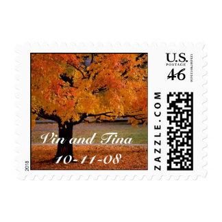 Vin and Tina10-11-08 Stamp