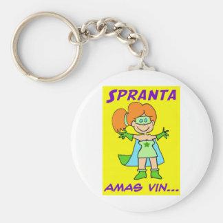 vin de los amas del esperanto del spranta llaveros personalizados