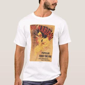 Vin Mariani Dancing Girl Pouring Wine T-Shirt