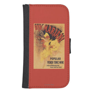 Vin Mariani Dancing Girl Pouring Wine Wallet Phone Case For Samsung Galaxy S4