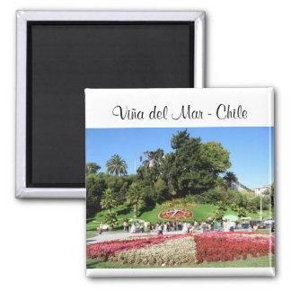 Viña del Mar - Chile 2 Inch Square Magnet