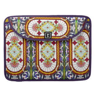 Vinage Art Nouveau Tiffany Stained Glass MacBook Pro Sleeves