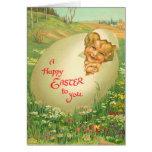 Vinage Easter cards for kids