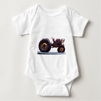 Vinage French Tractor Baby Bodysuit