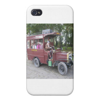 VINAGE TRANSPORT COVER FOR iPhone 4