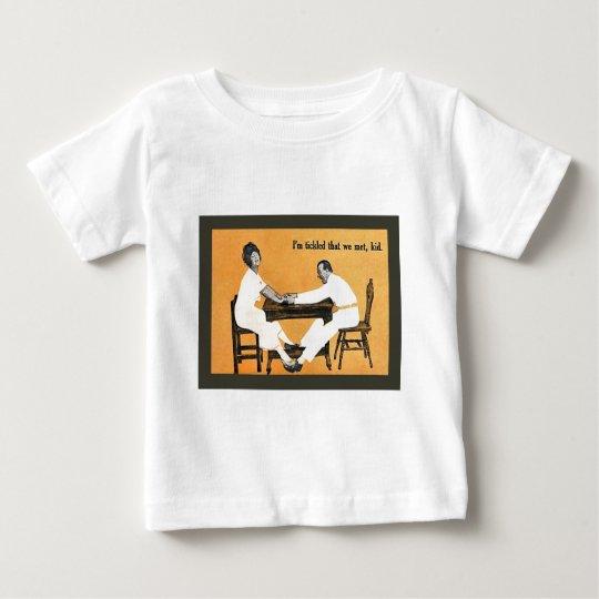 Vinatge image, Couple at the table Baby T-Shirt