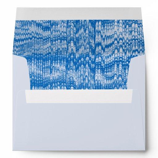Vinatge Marbled Paper Envelope