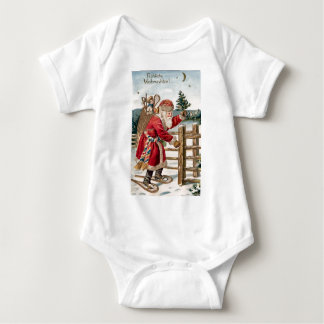 Vinatge Santa Baby Bodysuit