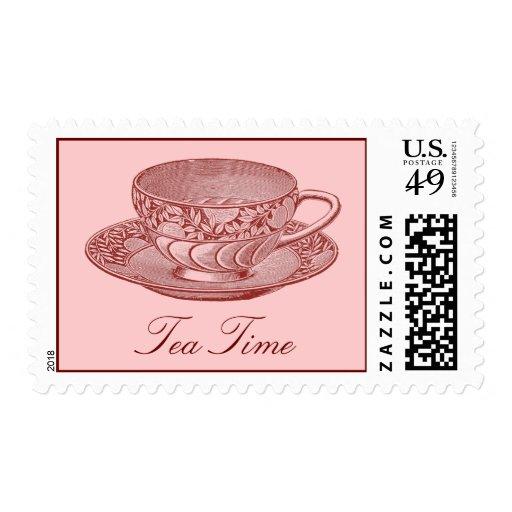 Vinatge Tea Cup Postage