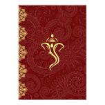 "Vinayaka Wedding Invitations 5"" X 7"" Invitation Card"