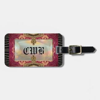Vinayya Monogram Travel Bag Tag