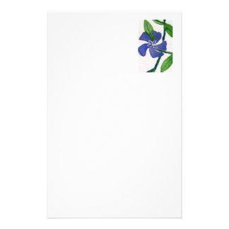 """""""Vinca Vine"""" Floral Stationery"""
