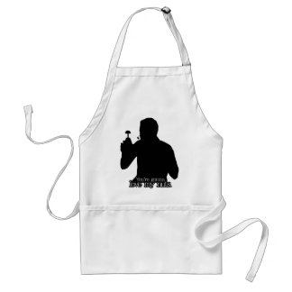 Vince Slap Chop You're Gonna Love My Nuts! Adult Apron