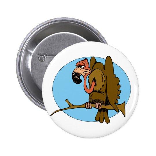 Vince Vulture Pinback Button