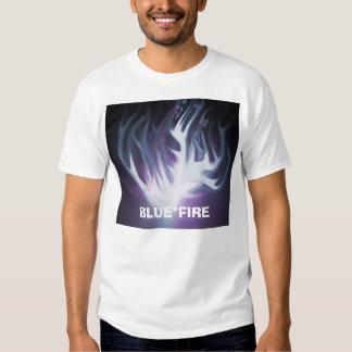 Vinceflame2, BLUE*FIRE T-Shirt