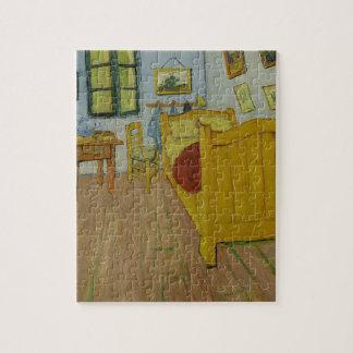 Vincen Van Gogh - Bedroom in Arles Painting Jigsaw Puzzle