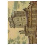 Vincennes castle, Paris painting Wood Poster