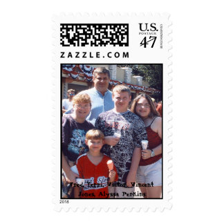 Vincent Alyssa Fred Terri Victor Six Flags Aug ... Postage