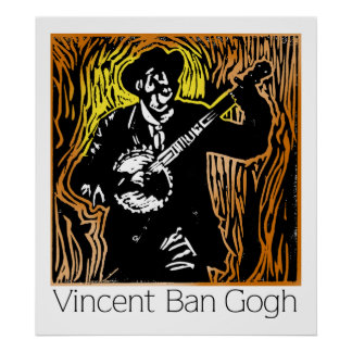 Vincent Ban Gogh Poster
