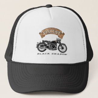Vincent Black Shadow motorcycle Trucker Hat