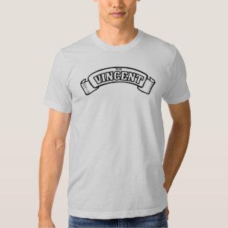 vincent black shadow racing tee shirt