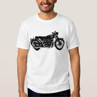 Vincent Black Shadow Shirts