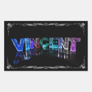 Vincent - el Vincent conocido en 3D se enciende P Etiqueta