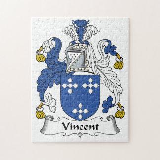 Vincent Family Crest Puzzles