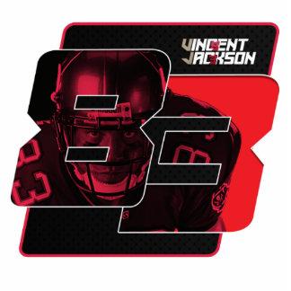 Vincent Jackson Desktop Stand Up Statuette