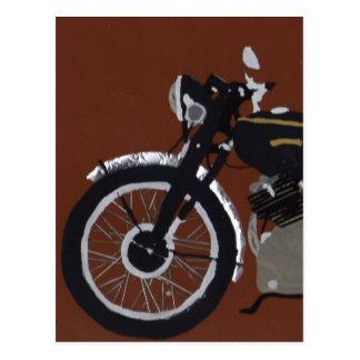 VINCENT MOTOR BIKE POSTCARD