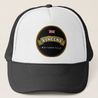 vincent Motorcycles Trucker Hat