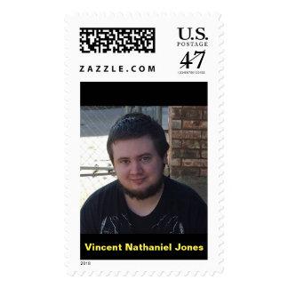Vincent Nathaniel Jones age 27 Postage