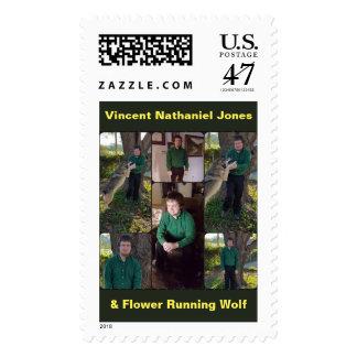 Vincent Nathaniel Jones age 28 Postage