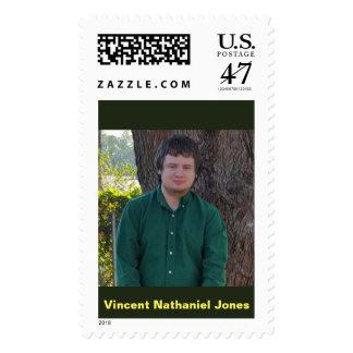 Vincent Nathaniel Jones Postage