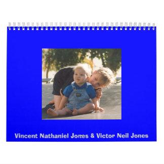 Vincent Nathaniel Jones & Victor Neil Jones Calendar
