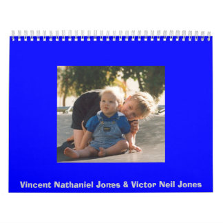 Vincent Nathaniel Jones & Victor Neil Jones Calendar